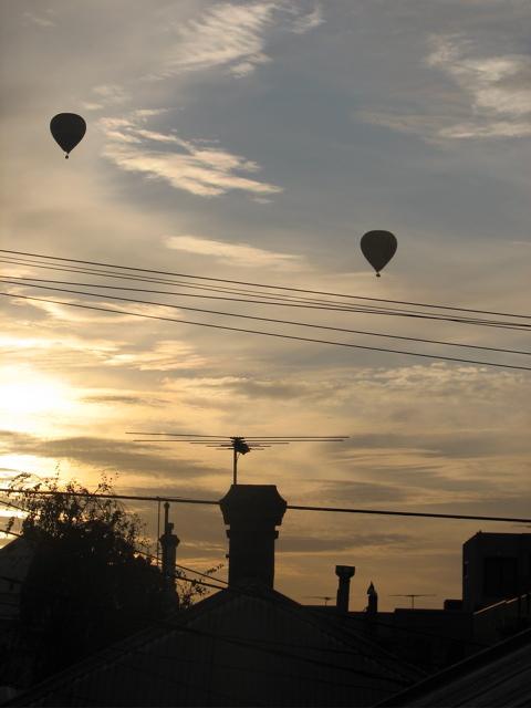 Dawn in Melbourne